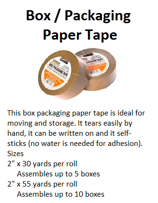 Box Packaging Paper Tape